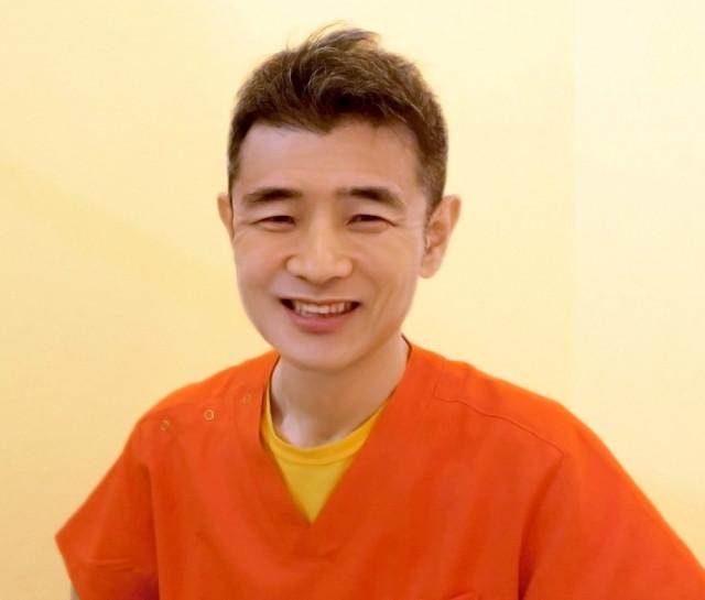 院長の笑顔